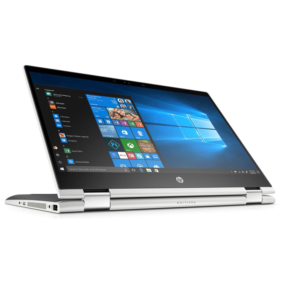 """HP Pavilion x360 14-cd0005ng, 14"""" FHD Convertible, Core i7-8550U, 8GB RAM, 128GB SSD + 1TB HDD"""