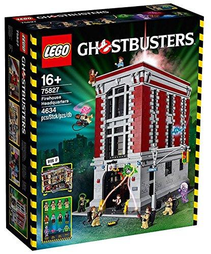 LEGO 75827 Ghostbusters Feuerwehr-Hauptquartier [Amazon.es]