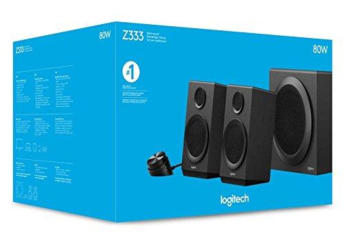 """Logitech™ - 2.1 Lautsprechersystem """"Z333"""" (80W,Subwoofer) ab €19,99 [@Kik.de]"""