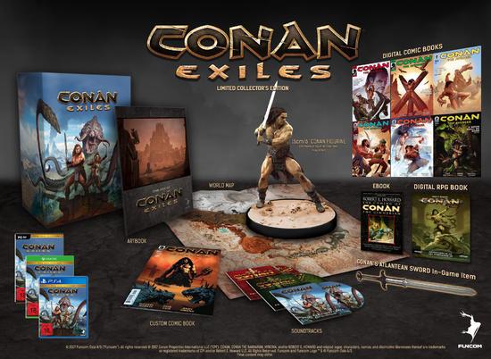 Conan Exiles Collector's Edition (PS4 & Xbox One) für 35,09€ (Amazon.it)