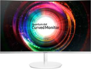 "Samsung Curved Monitor C27H711 (27"" WQHD VA-Panel, Quantum Dot, AMD FreeSync)"