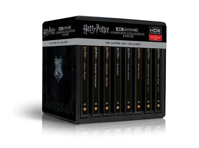 PayPal-Direktabzug bei MediaMarkt, z.B. Harry Potter 4K Steelbook Complete Collection für 89€ oder Sony KD-65XF7005 für 729€
