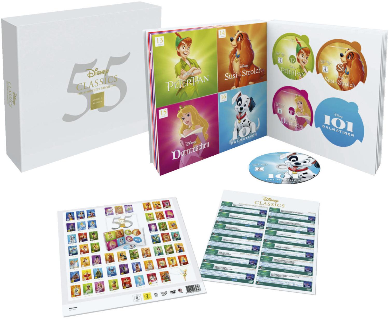 Disney Classics Komplettbox (55 Discs) - (DVD) [Saturn Entertainment Weekend Deals versandkostenfrei]