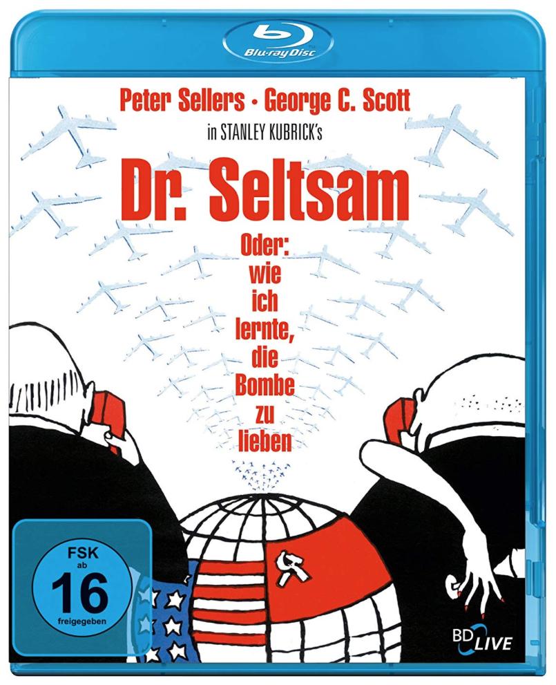 Dr. Seltsam oder: Wie ich lernte, die Bombe zu lieben (Blu-ray) für 7,99€ inkl. Versand