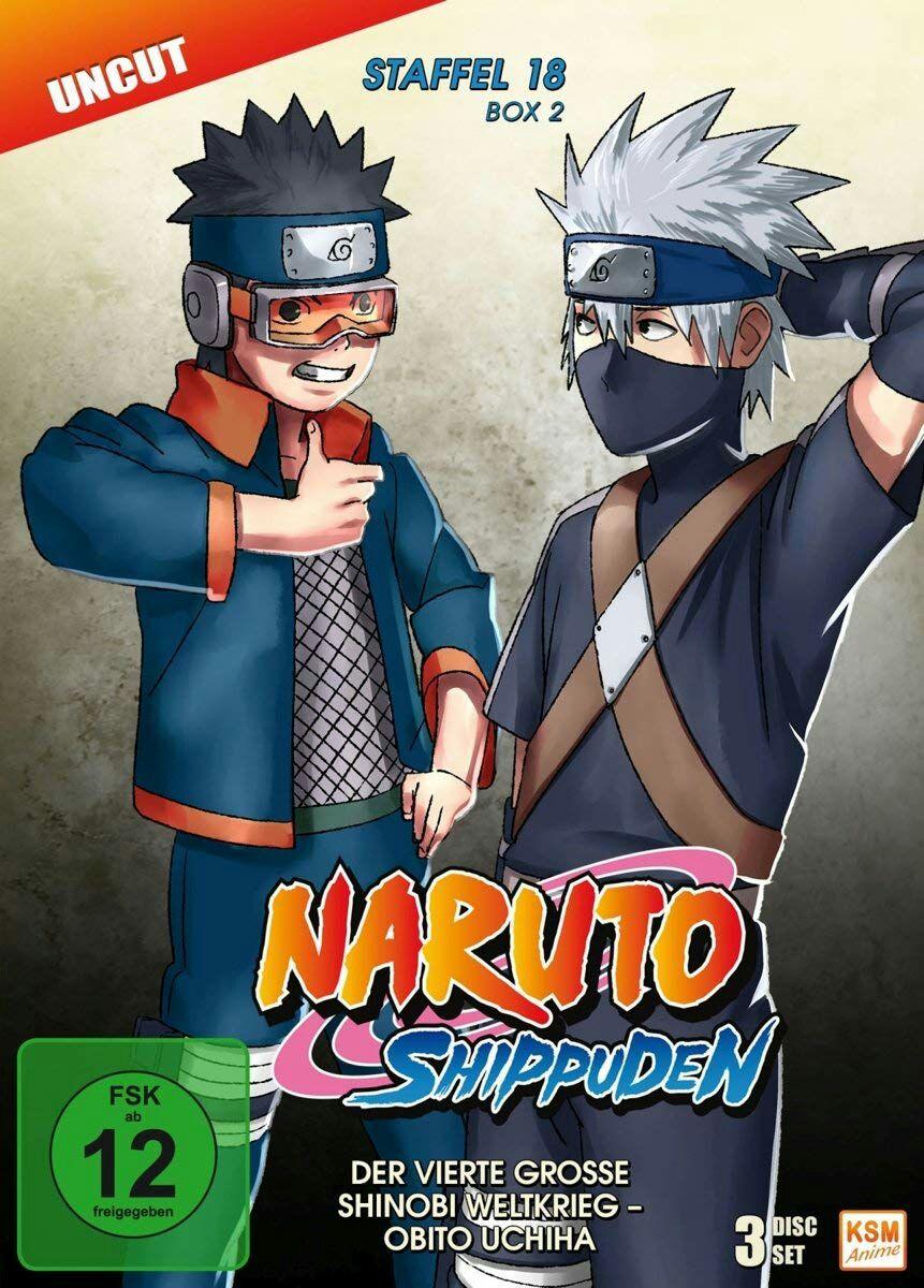 Naruto Shippuden Staffel 18 Box 2 DVD