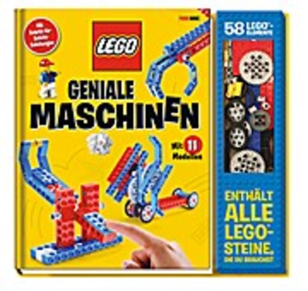 [REAL] LEGO Geniale Maschinen - Buch mit Steinen  [Preis bei Marktabholung oder Bestellung >29€]