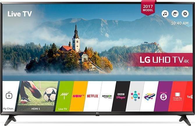 "[alternate] LG 55UJ630V - 55"" 4K Smart TV (IPS, Direct LED, 60 Hz, 8bit+FRC, webOS 3.5, DTS, Dolby Digital)"