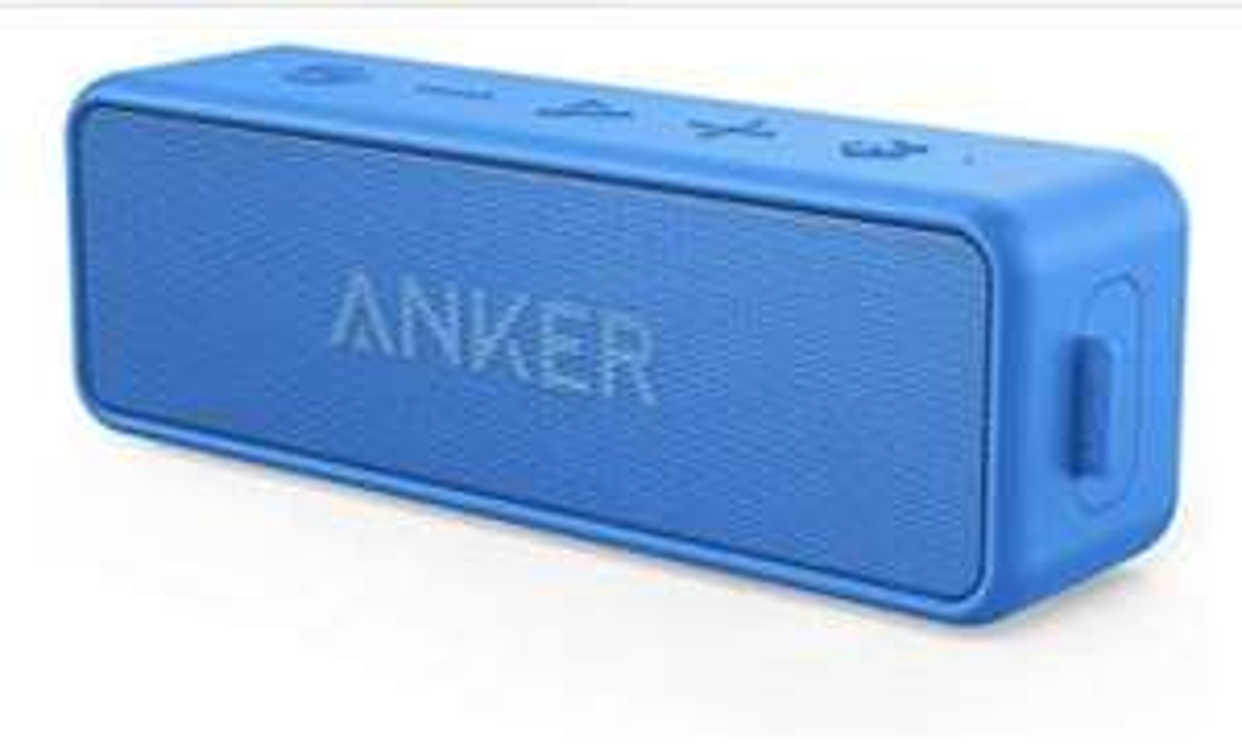 Anker SoundCore 2 Bluetooth Lautsprecher in der Farbe blau oder rot 31,44€ [Blitzpreis Amazon]