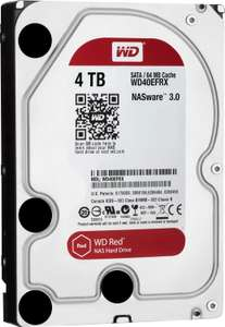 Western Digital Red SATA III 4TB (WD40EFRX) 105,90€