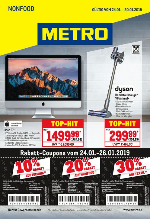 METRO - iMac 27 5K - 1TB FD - AMD 570 - i5 3,4 MNE92D/A (Gewerblich)