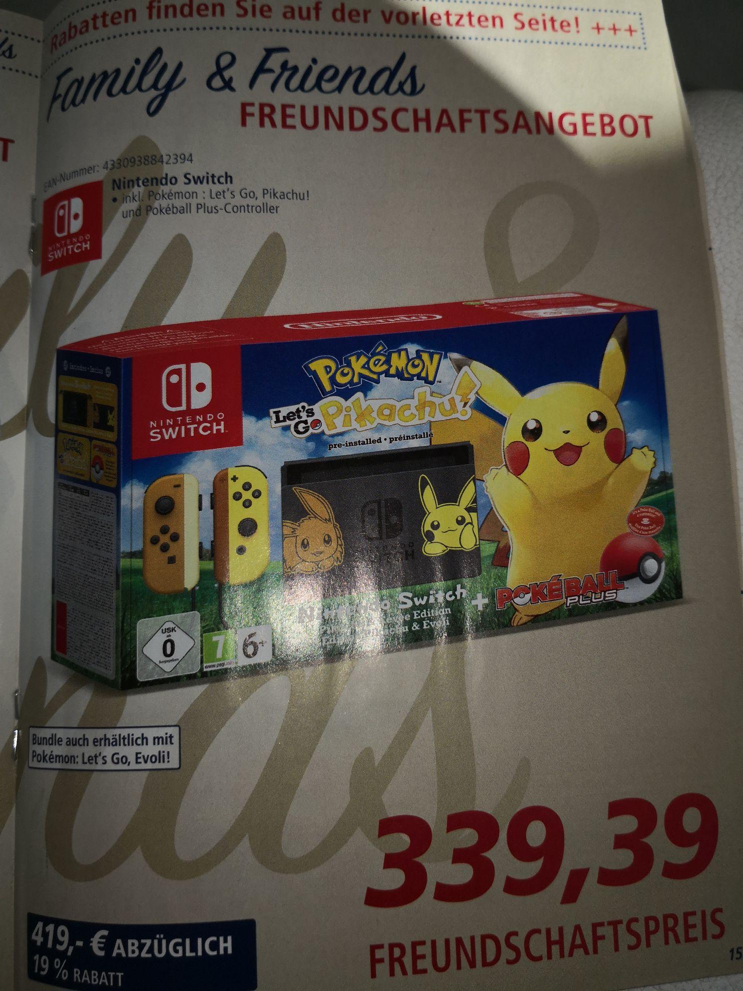 Nintendo Switch Pokémon Edition
