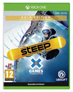 Steep X Games Gold Edition inkl. Steep (Xbox One & PS4) für je 21,95€ (Coolshop)