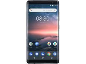 """[saturn + Paypal] NOKIA 8 Sirocco - 5,5"""" Smartphone (128GB, 6GB RAM, NFC, USB-C, 12/13/5MP, QuickCharge4, Android 9)"""