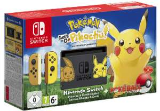 [Saturn] NINTENDO Switch Pokémon - Let's Go Pikachu! Edition Spielekonsole, Schwarz/Gelb, 32 GB für 329,-€ mit PayPal Zahlung