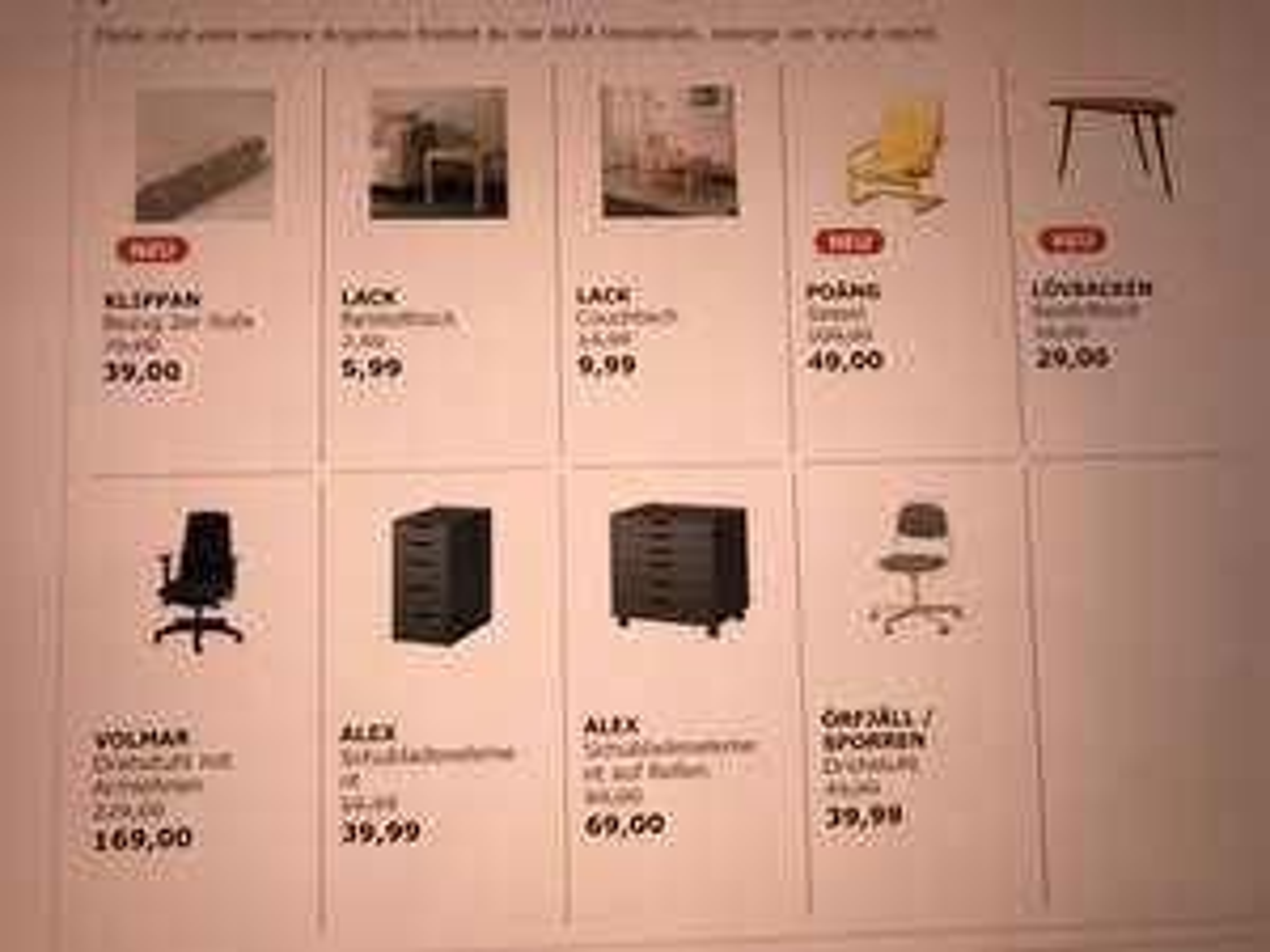 [Lokal] Ikea Osnabrück - Bürostuhl Volmar mit Armlehnen