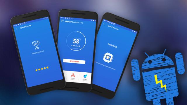 Smart Booster Pro - für Android (ohne Werbung)