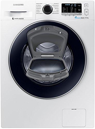Samsung WW90K5400UW AddWash Waschmaschine / 9 kg / A+++ / 1400 UpM / ECO Trommelreinigung [Energieklasse A+++]