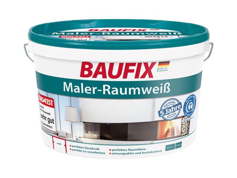 [LIDL] BAUFIX Maler-Raumweiß 11l (ab 28.1.)
