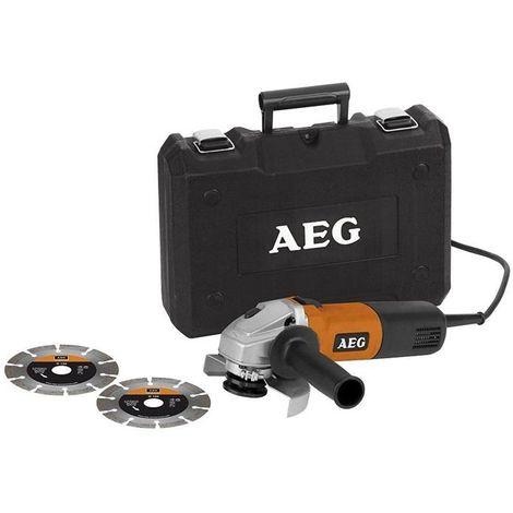 AEG WS6-125 Koffer Set Winkelschleifer
