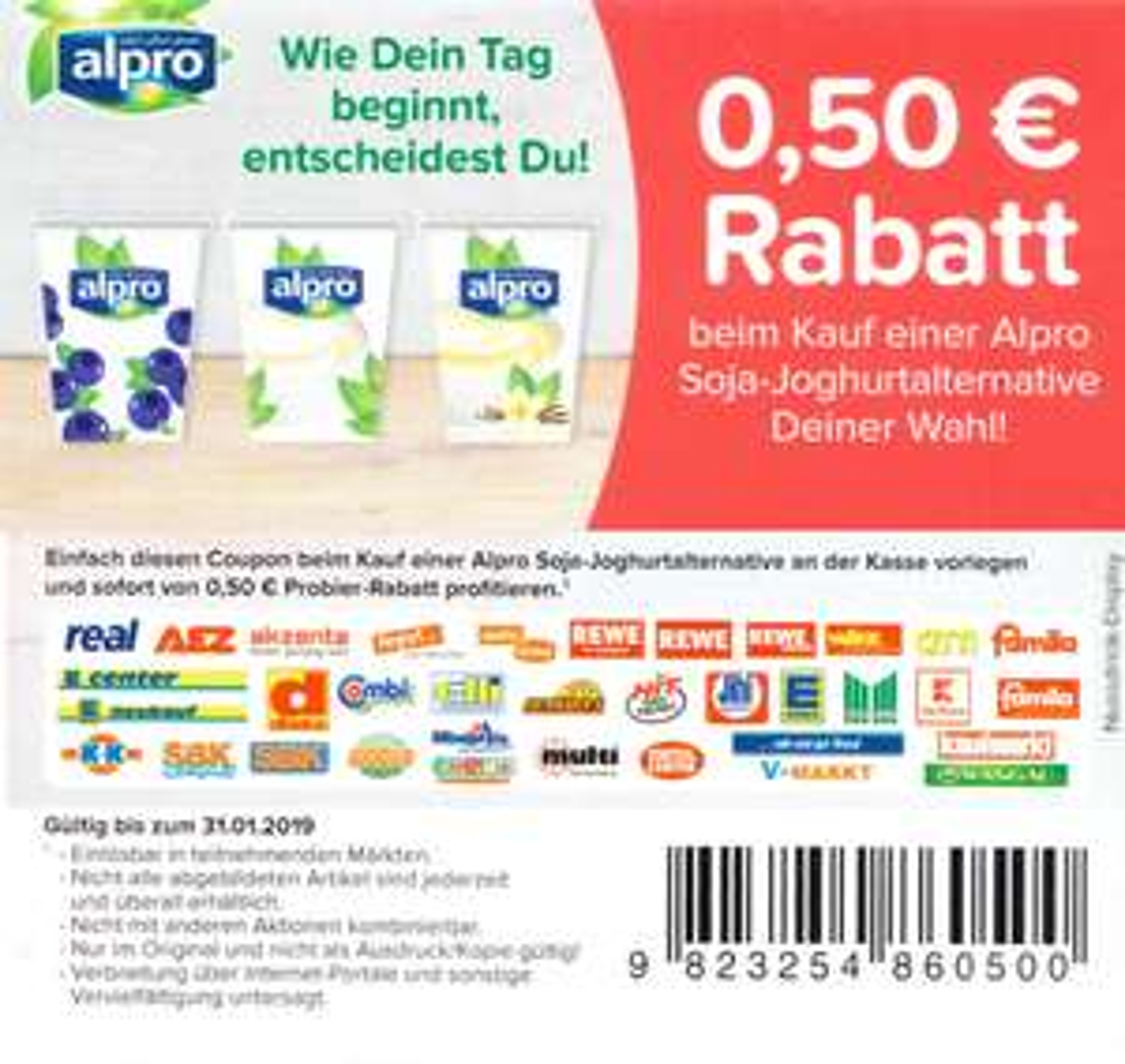Sofort rabatt coupons lebensmittel
