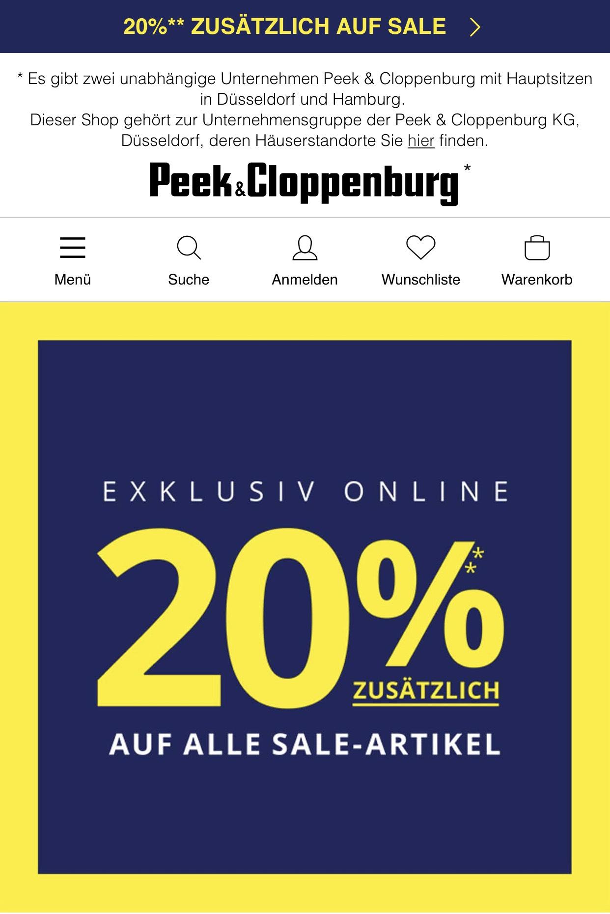 d8e22fa664e7 Peek   Cloppenburg  KG Hamburg - van graaf Angebote   Deals ...