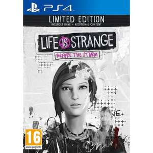 Life is Strange: Before the Storm Limited Edition (PS4) für 14,99€ (cdiscount)