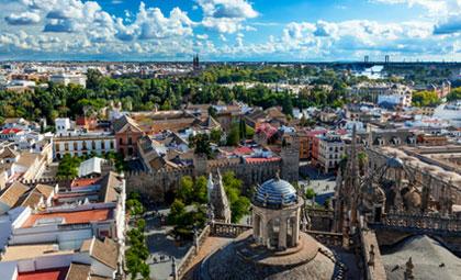 Flüge: Sevilla / Spanien ( Februar ) Hin- und Rückflug von Frankfurt, Memmingen und Karlsruhe nach Sevilla ab 20€