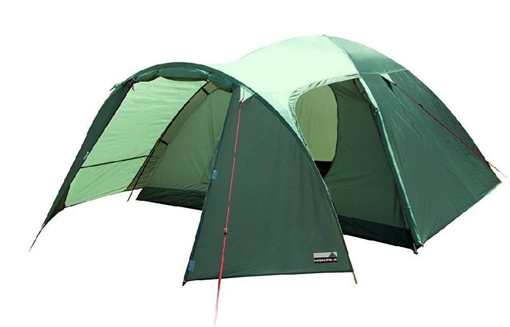 HIGH PEAK Zelt Kira 4, dunkeloliv/helloliv 32,20€ - HIGH PEAK Luftbett Single Comfort Plus für 8,69€ [Amazon]