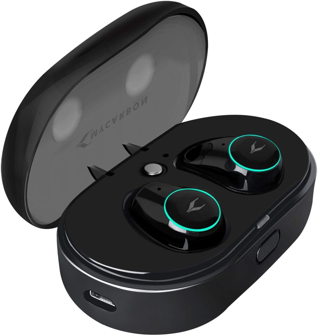 MYCARBON Bluetooth Kopfhörer in Ear Kabellos Kopfhörer V5.0 True Wireless Kopfhörer