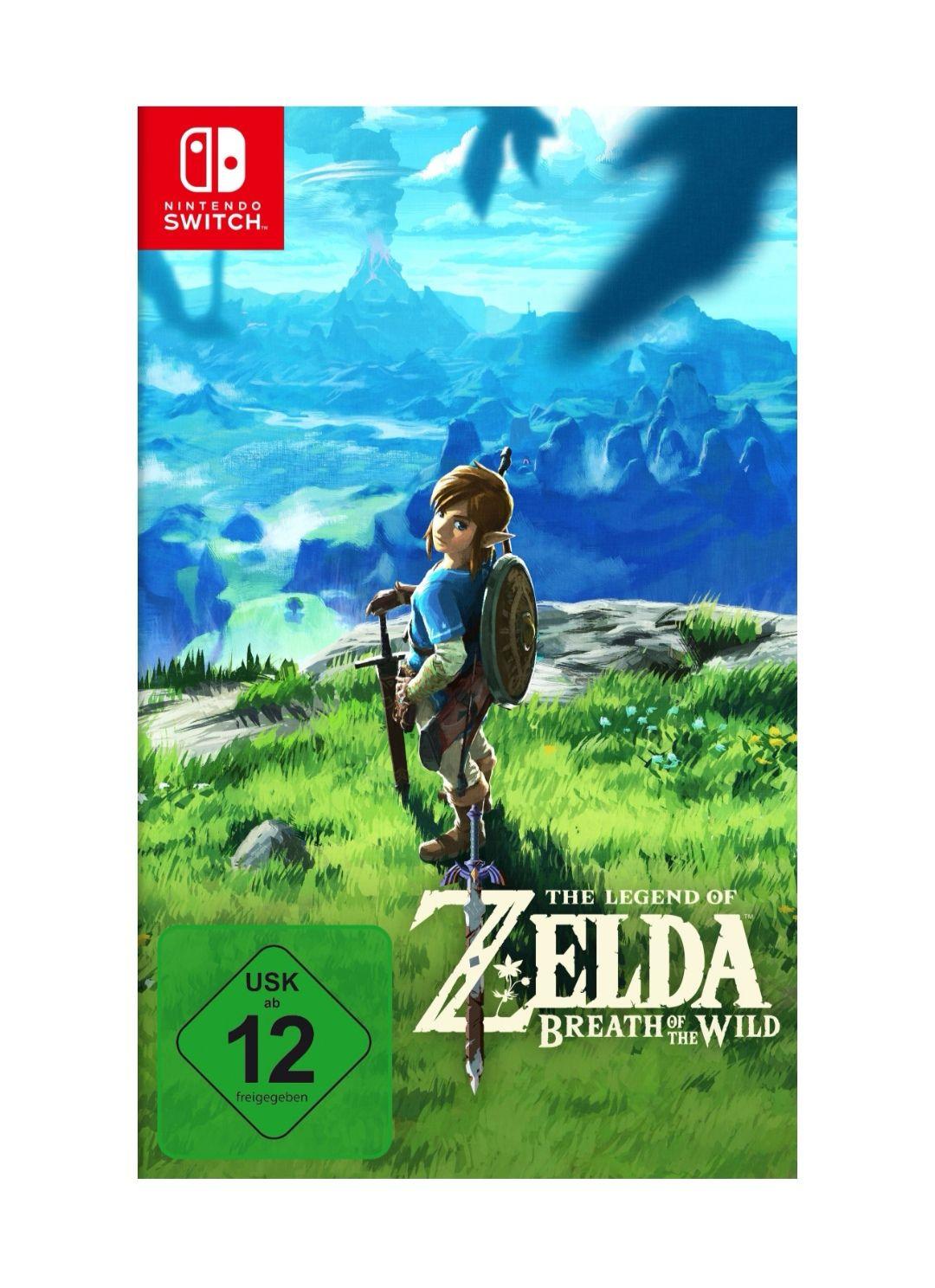 The Legend of Zelda Breath of the Wild  Nintendo Switch für 44€ [Lokal Saturn Aachen]