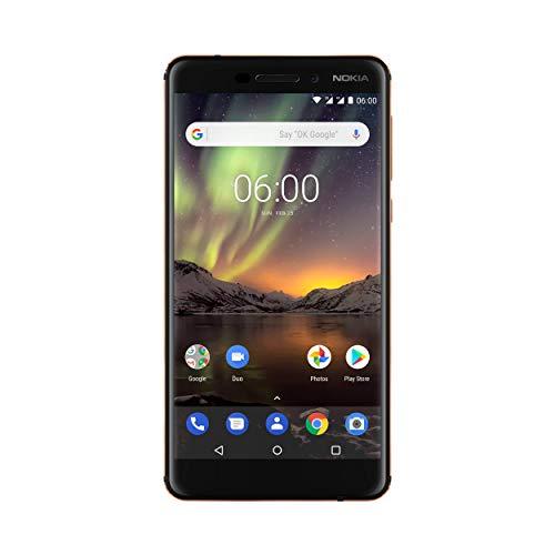 Nokia 6.1 (2018) Smartphone 5,5 Zoll / Dual SIM / 32/3GB [Amazon]