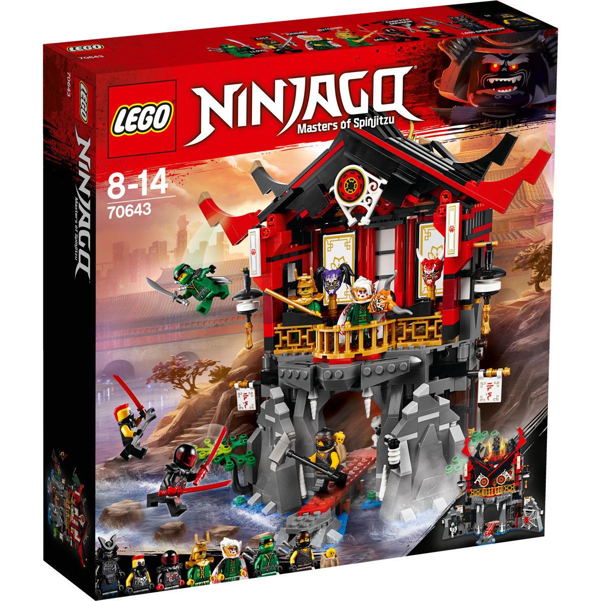 LEGO Ninjago - Tempel der Auferstehung (70643) für 47,94€ bei Karstadt