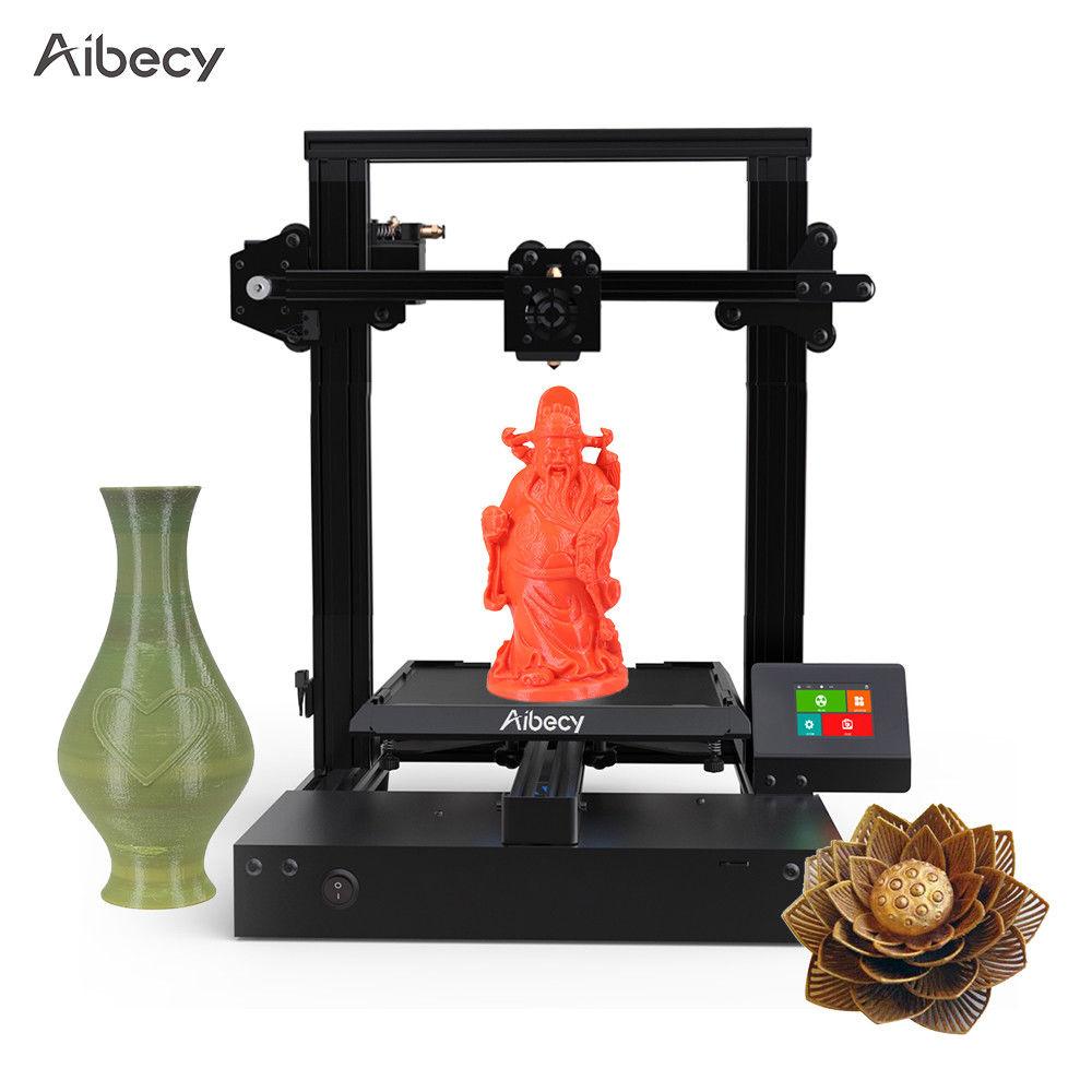 "Aibecy Pioneer X3 3D Drucker DIY Kit 220*220*240mm Druck 2.4"" Farbe TouchScreen"