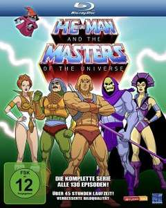 He-Man and the Masters of the Universe - Komplette Serie (Blu-ray) für 34,99€ (Bücher.de Masterpass)