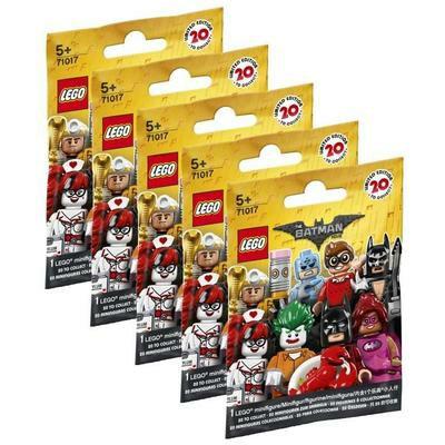 LEGO Batman Movie Minifiguren (71017) 5 Überraschungstüte für 9.44€ oder 10 für 15.89€ (Cdiscount)