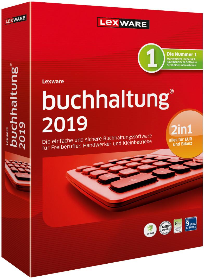 20% auf Lexware Buchhaltung 2019 & Faktura + Auftrag als Box- oder Download-Version