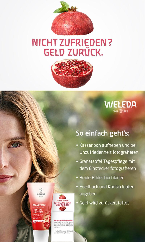 Weleda Granatapfel Straffende Tagespflege - Zufriedenheitsgarantie