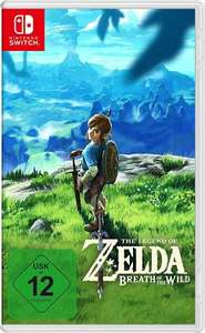 [Bücher.de][Masterpass] The Legend of Zelda: Breath of the Wild (Nintendo Switch) für 49,99€ + Payback und/oder Shoop (bis zu 7,65€) möglich