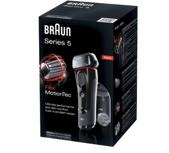Braun Series 5 - 5050cc System Rasierer Schwarz