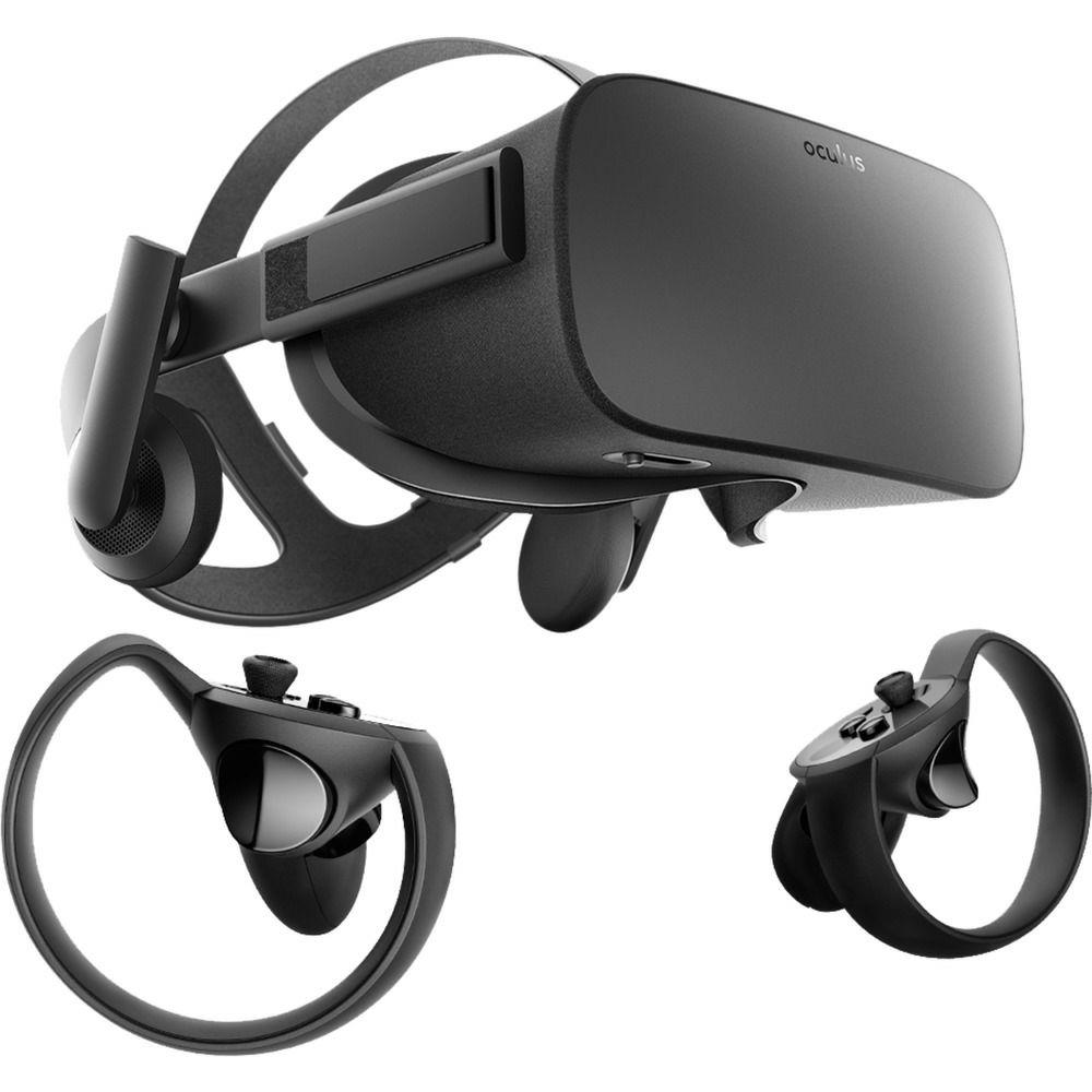 Oculus Rift Bundle, VR-Brille, schwarz, inkl. Oculus Touch
