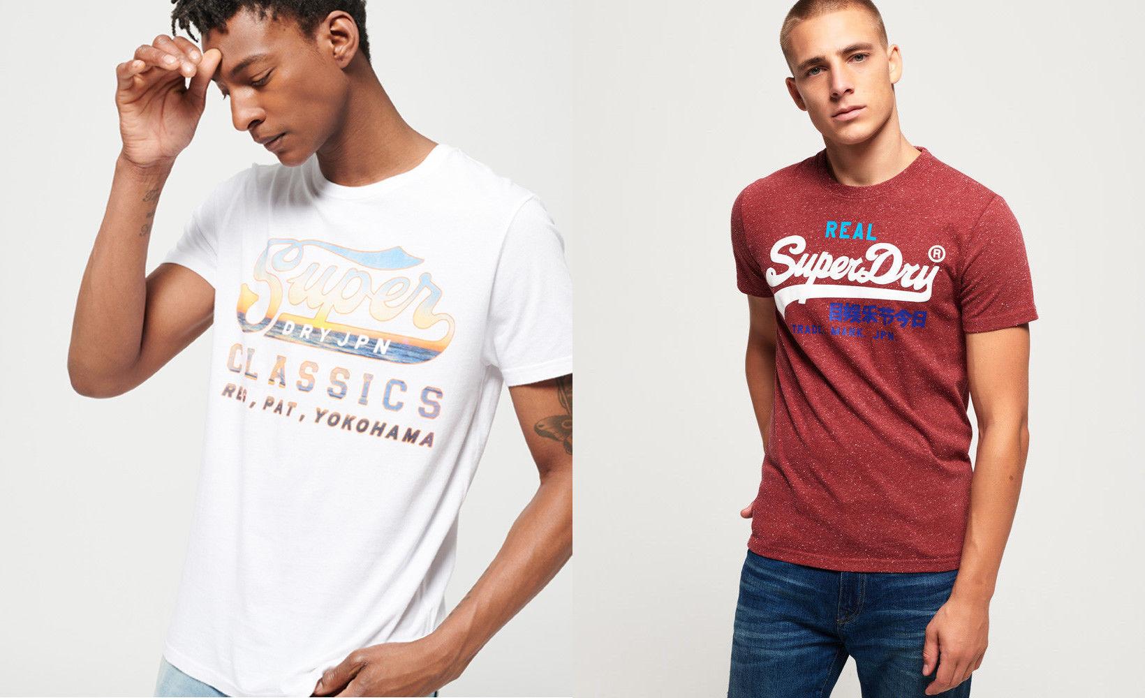 Superdry T-shirts in versch. Modellen und Farben
