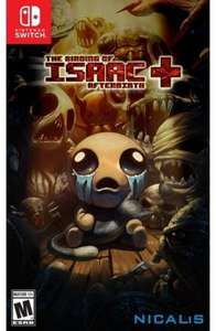 The Binding of Isaac: Afterbirth+ (Switch) für 17,60€ (US eShop)