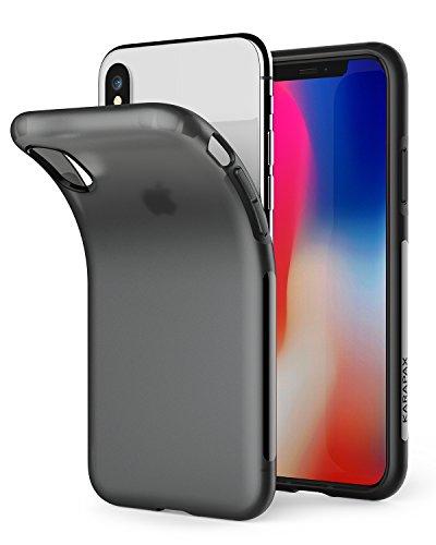 Amazon Anker iPhone X/XS Hülle KARAPAX Touch Dünne Matte Handyhülle