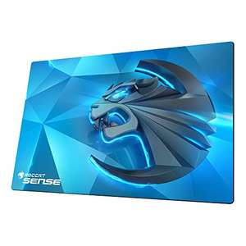 [Amazon Prime] ROCCAT Sense Kinetic High Precision Gaming Mousepad (Mikrokristallbeschichtung, Größe: 400 x 280 x 2 mm), blau/schwarz