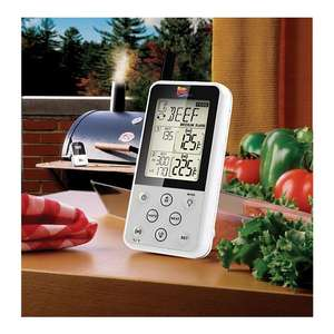 BBQ-Scout Maverick ET733 Funkthermometer / Grillthermometer weiß