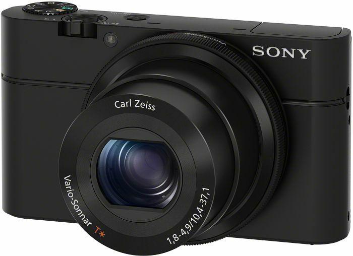 Sony Cyber-shot DSC-RX100 - Kompaktkamera - 20 MP, 7,6 cm (3 Zoll) Display, lichtstarkes 28-100mm Zoomobjektiv F1,8 (Amazon.es)