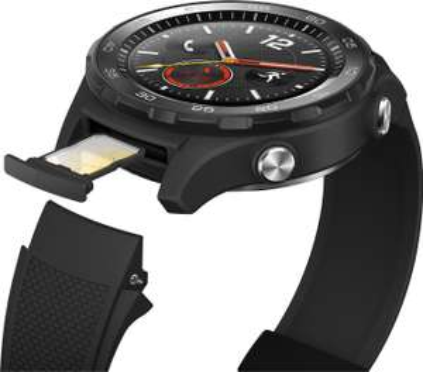 HUAWEI WATCH 2 4G LTE GPS Smartwatch Sportarmband schwarz NFC, Bluetooth, WLAN, Android Wear für 199,37€ inkl. Versandkosten