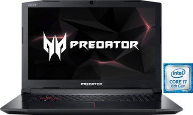 """Notebook: Acer Predator Helios 300, i7 8750H, GTX1050 Ti, 16 GB RAM, 17,3"""" [Otto]"""