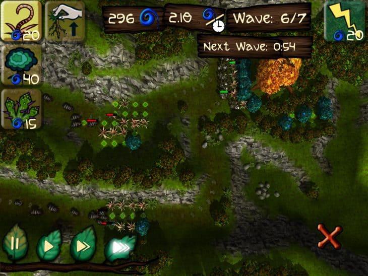 Forest Spirit ist derzeit kostenfrei (iOS und Google Play) - das Command & Conquer unter den Waldtieren