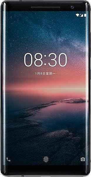 Nokia 8 Sirocco Smartphone (13,75 cm/5,5 Zoll, 128 GB Speicherplatz, 12 MP Kamera)